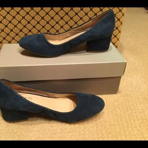 New Franco Sarto blue shoes size 8